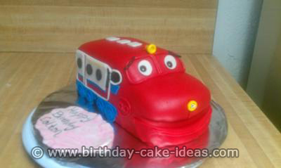 chuggington cake, chuggington birthday cakes
